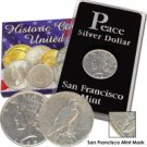 1925 Peace Dollar - San Francisco - Circulated