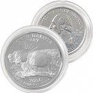 2006 North Dakota Platinum Quarter - Denver Mint