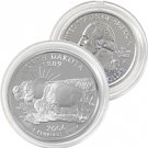 2006 North Dakota Platinum Quarter - Philadelphia Mint