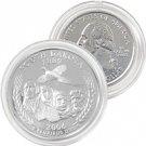 2006 South Dakota Platinum Quarter - Denver Mint