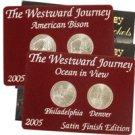 2005 Westward Nickels - Satin Finish Collection