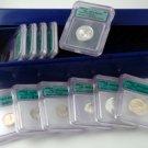 2004 U.S. Proof Set - (Silver) Deep Cameo Ct 70 - 11 pc