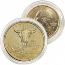 2007 Montana 24 Karat Gold Quarter - Philadelphia