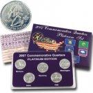 2007 Quarter Mania Uncirculated Set - Plat - P Mint