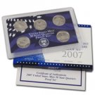 2007 Modern Issue Proof Set - Quarters Only