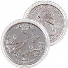 2008 Oklahoma Platinum Quarter - Philadelphia Mint