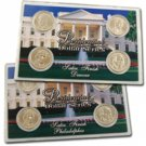 2007 Presidential Dollar Satin Finish P & D Sets