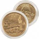 2008 Arizona 24 Karat Gold quarter - Denver