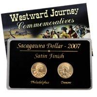 2007 Sacagawea P & D 2 pc Set - Satin Finish