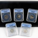 2002 50 States Quarter Proof Set - ANACS Certified 70