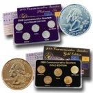2008 Quarter Mania Precious Metal Set - Gold P / Plat D
