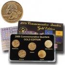 2008 Quarter Mania Uncirculated Set - Gold - P Mint