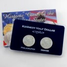 2004 Kennedy Half Dollar P & D Set - Lens