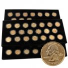 1999 to 2008 24 Karat Gold Quarter Set - Philadelphia Mint