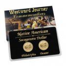2010 Native American Dollar Set ( P & D ) - Uncirculated