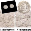 1878 Morgan Dollar 7 & 8 TF Set