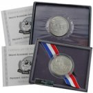1991 Mount Rushmore Proof & Uncirculated Half Dollars