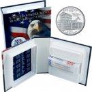 2001 US Mint Licensed Album - Kentucky Quarter Roll - Philadelphia