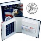2002 US Mint Licensed Album - Louisiana Quarter Roll - Philadelphia