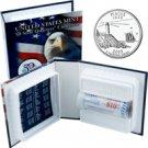 2003 US Mint Licensed Album - Maine Quarter Roll - Denver