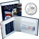 2004 US Mint Licensed Album - Texas Quarter Roll - Denver