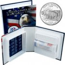 2006 US Mint Licensed Album - North Dakota Quarter Roll - Philadelphia