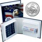 2006 US Mint Licensed Album - South Dakota Quarter Roll - Denver