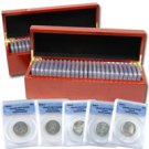 1999 to 2008 Perfect Proof Quarters - ANACS 70