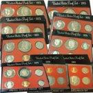 Silver Dollar Proof Sets (1973-1981) - Black Box