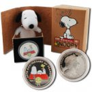 60th Anniversary of Peanuts Official Colorized Snoopy Coin
