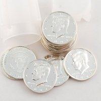2001 Kennedy Half Dollar Roll of 20 - SILVER PROOF