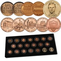 Ultimate Lincoln Spectacular Collection - 20 coins