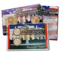 2010 Presidential Dollars P & D Lens - Abraham Lincoln