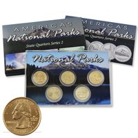 2010 National Parks Quarter Mania Set - Gold Philadelphia