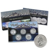 2010 National Parks Quarter Mania Set - Platinum Philadelphia