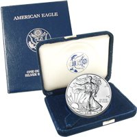 2010 Silver Eagle Government Issue - Proof