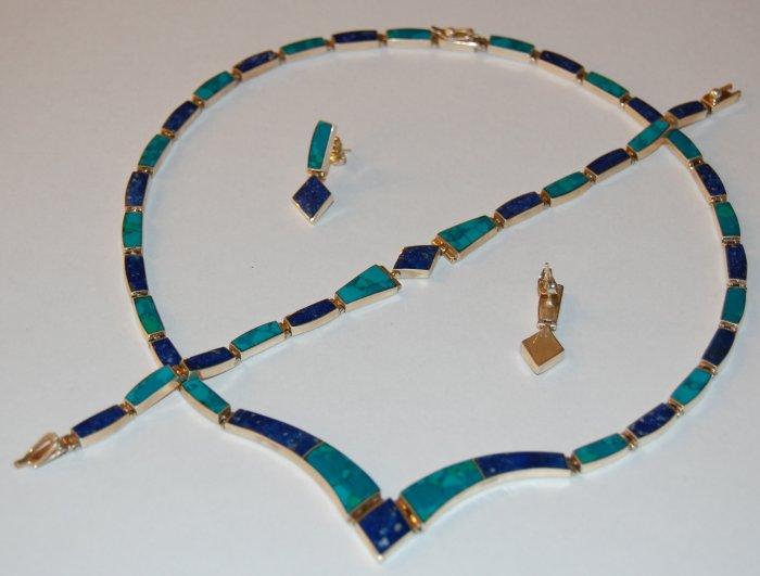Lapislazuli Turquoise Set