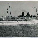 Iroquois Passenger Steamship Vintage Real-Photo PC Circa 1912