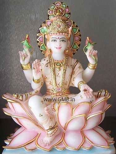 "Goddess Laxmi Statue 12"""
