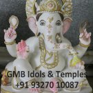 Marble Ganesh Statue 15""