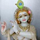 "Marble Idol of Krishna 30"" Inch - KSN30002"