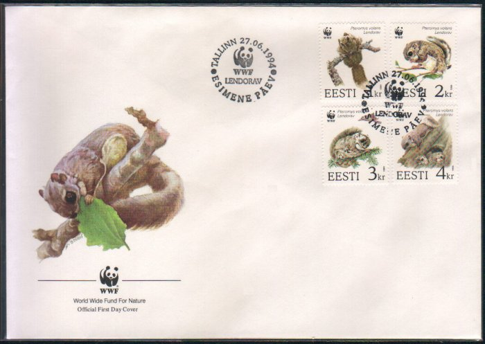 WWF / World Wide Fund for Nature FDC / FIRST DAY COVER : Lendorav 27 June 1994