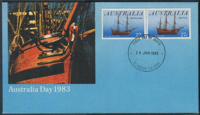 Australia FDC / First Day Cover : 1983 Australia Day 26 Jan 1983