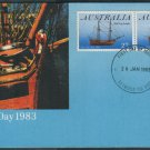 Australia FDC / First Day Cover : 1983 Australia Day 26 Jan 1983