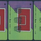 Hong Kong MTR Train Ticket : Recruit - Basketball x 4 Pieces