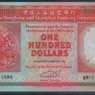 UNC Hong Kong HSBC 1992 HK$100 Banknote : QM 111999