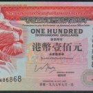 UNC Hong Kong HSBC 1997 HK$100 Banknote : AJ 686868