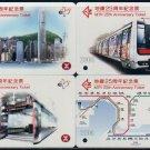 Hong Kong MTR Train Ticket : 25th Anniversary Ticket