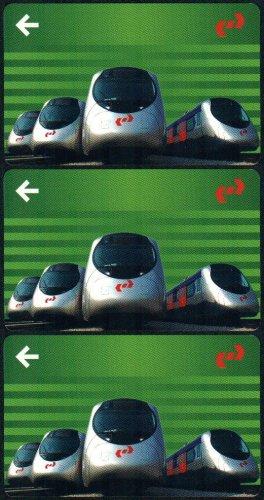 Hong Kong KCR Train Ticket : West Rail Festival Pass x 3 Pieces