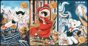 Japan / Japanese Phonecard : Tezuka Osamu Collections